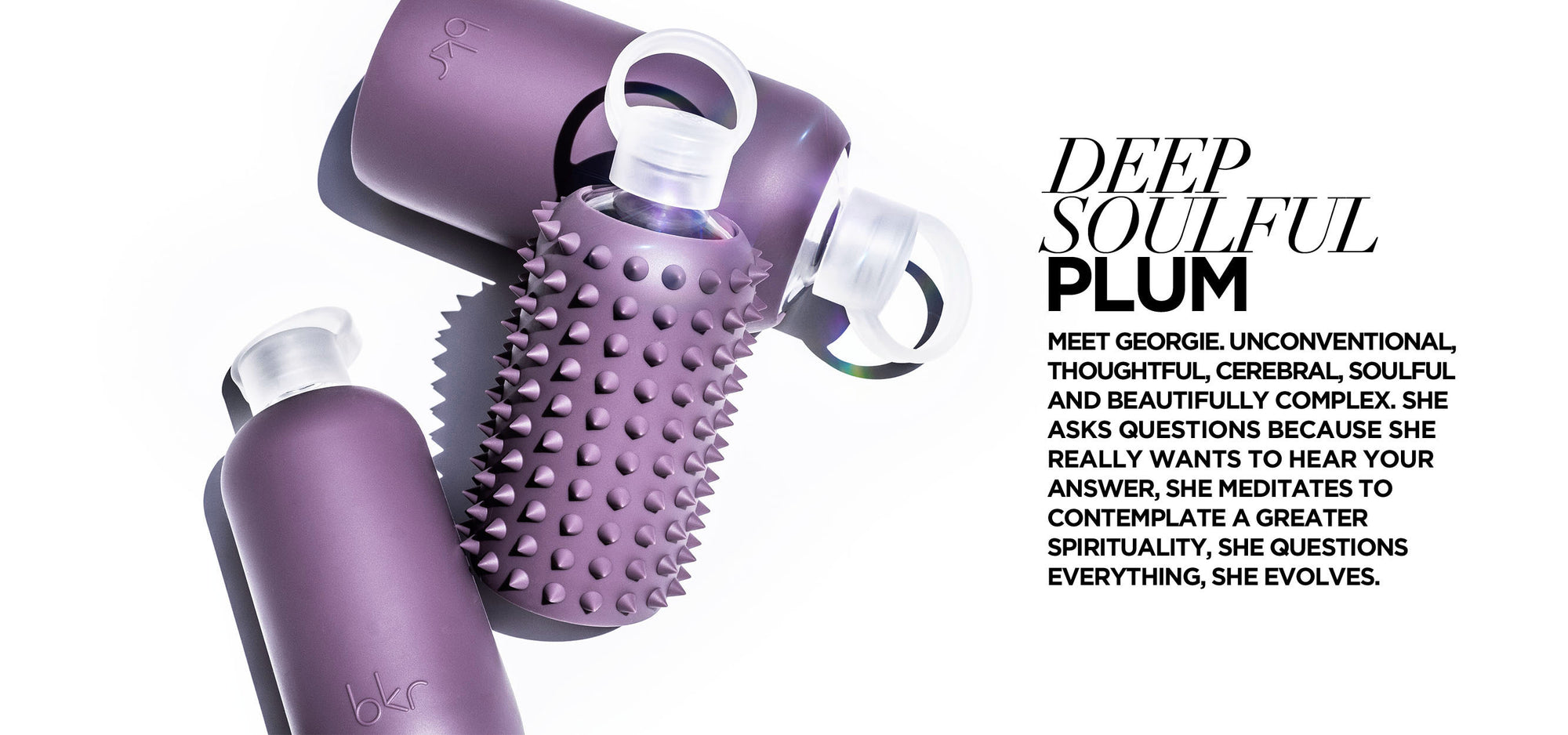 3aa6f1bee3dc The Original Best-Loved Glass Water Bottle | bkr® Official Site