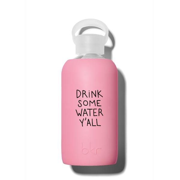 bkr Glass Water Bottle: 16oz BAKER MILLER TEXAS Y'ALL 500 ML