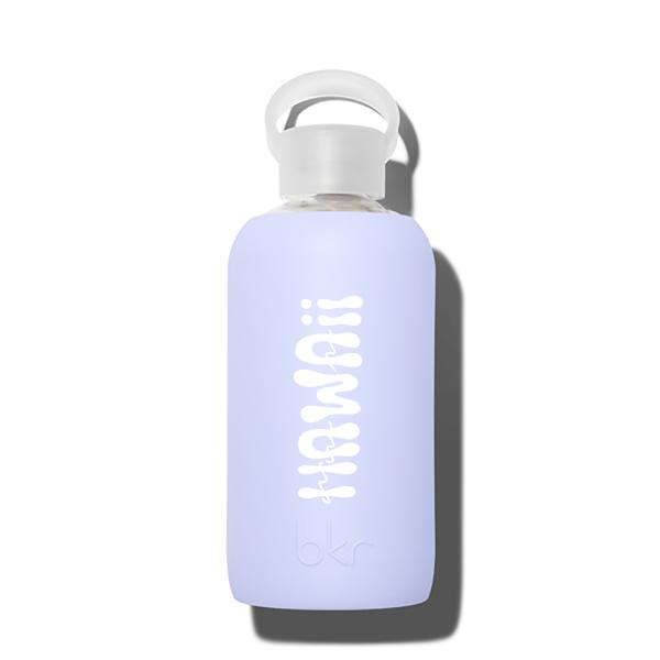 bkr Glass Water Bottle: 16oz JIL HAWAII PRINT 500 ML