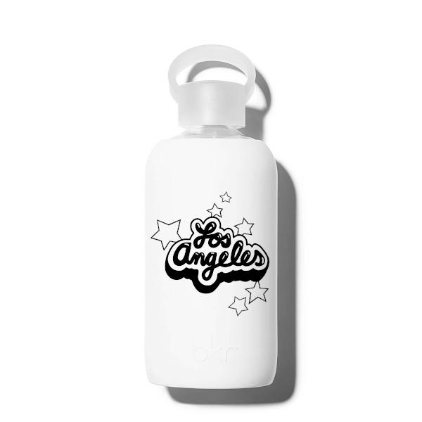 bkr Glass Water Bottle: 16oz WINTER LOS ANGELES STARS 500 ML