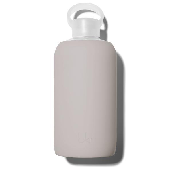 bkr Glass Water Bottle: 32oz HEATHER 1L