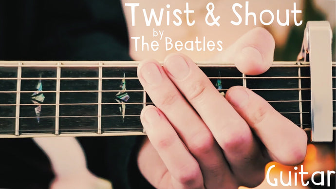 Twist and Shout by The Beatles Guitar Lesson for Beginners!