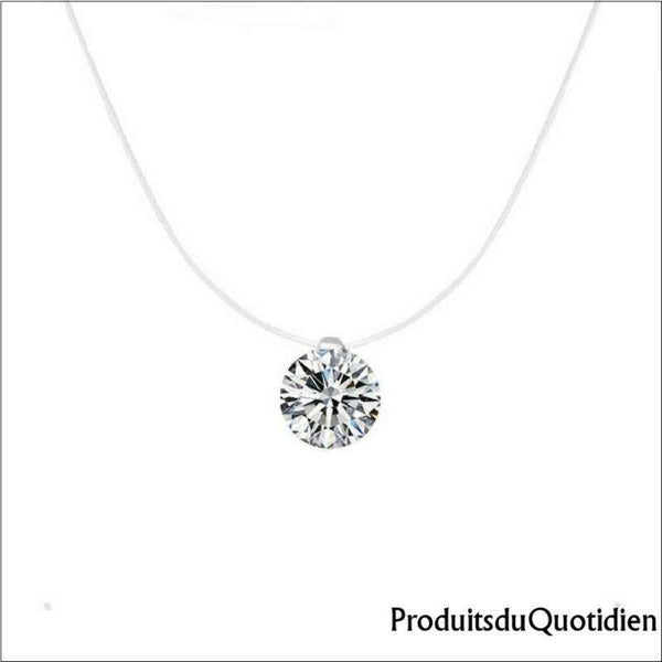 solitaire collier