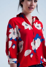 blouse-with-flared-sleeve