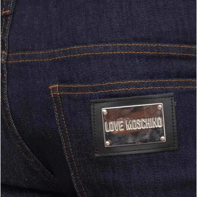 Blue Denim Jeans Love Moschino-1Style.ch