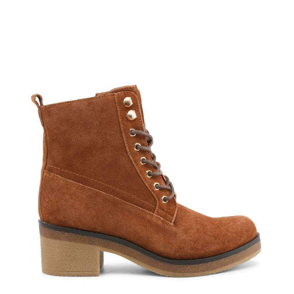 Brown Suede Ankle Boots Docksteps-1Style.ch