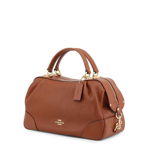 Coach Light Brown Leather Handbag-1Style.ch
