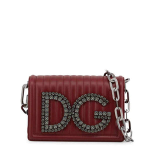Dolce and Gabbana Bag With DG Logo in Rhinestones-1Style.ch