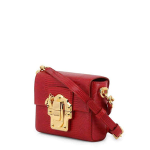 Dolce and Gabbana Leather Clutch Bag Red-1Style.ch