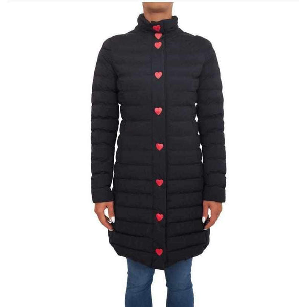 Long Down Jacket Love Moschino-1Style.ch