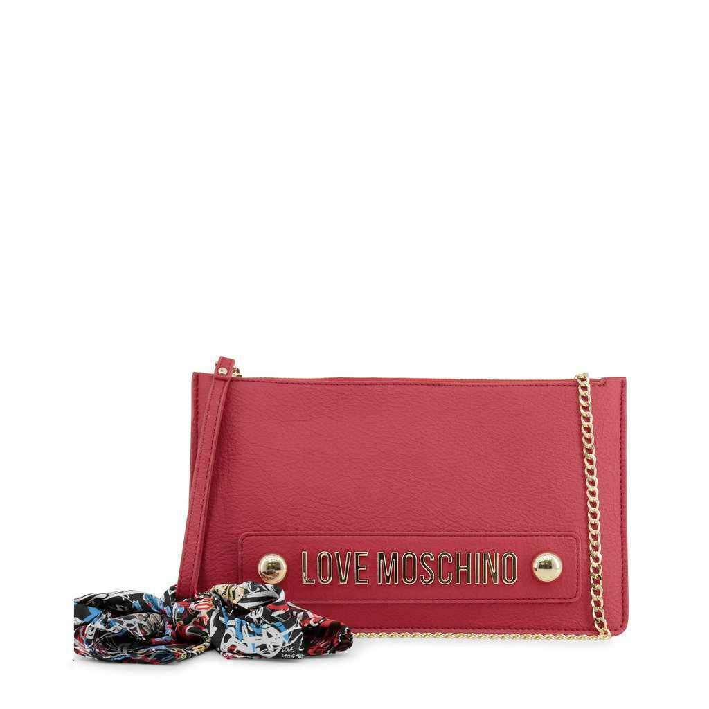 Love Moschino Red Clutch | Love Moschino Bags-1Style.ch