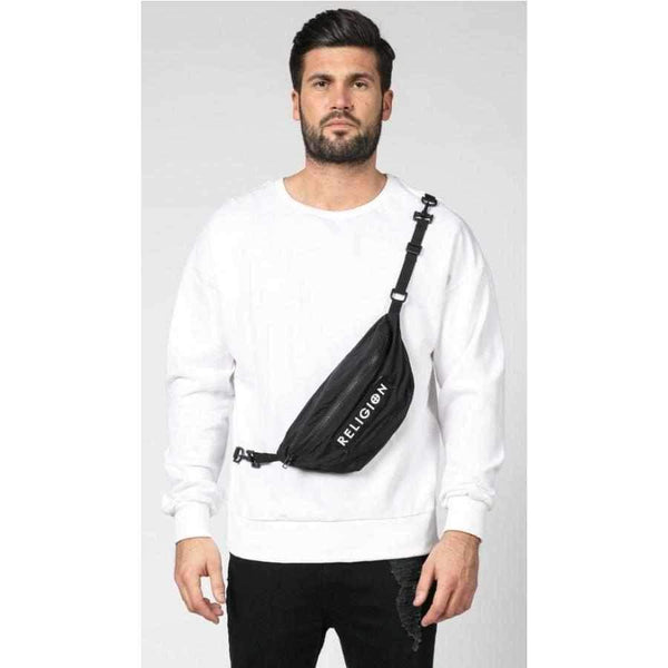 Men' Regular Cut Religion Pouch Sweat-1Style.ch