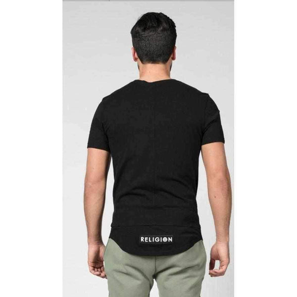 Men's Black Religion Bow Tee-1Style.ch