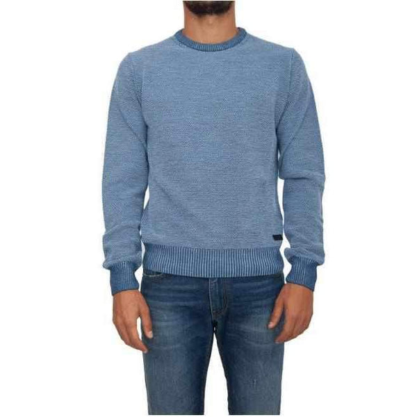 Men's Round Neck Sweater Trussardi Jeans-1Style.ch