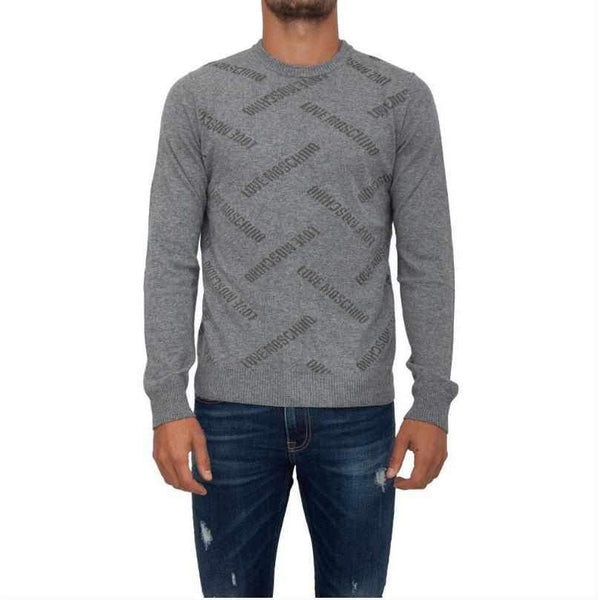 Men's Sweater Love Moschino With Print-1Style.ch