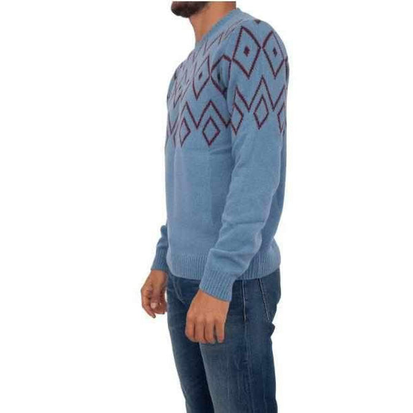 Men's Sweater With Ornament Trussardi Jeans-1Style.ch