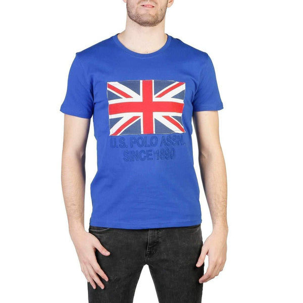 Men's T-Shirt U.S. Polo Great Britain Flag-1Style.ch