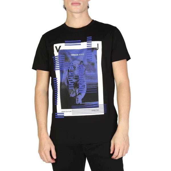 Men's T-shirt Versace Jeans with Animal Print-1Style.ch