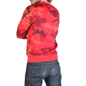Napapijri Men's Sweatshirt BALKA Red-1Style.ch