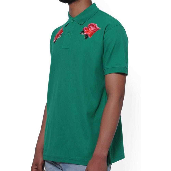 Nerdy Fresh Men'S Rose Thorn Polo-1Style.ch