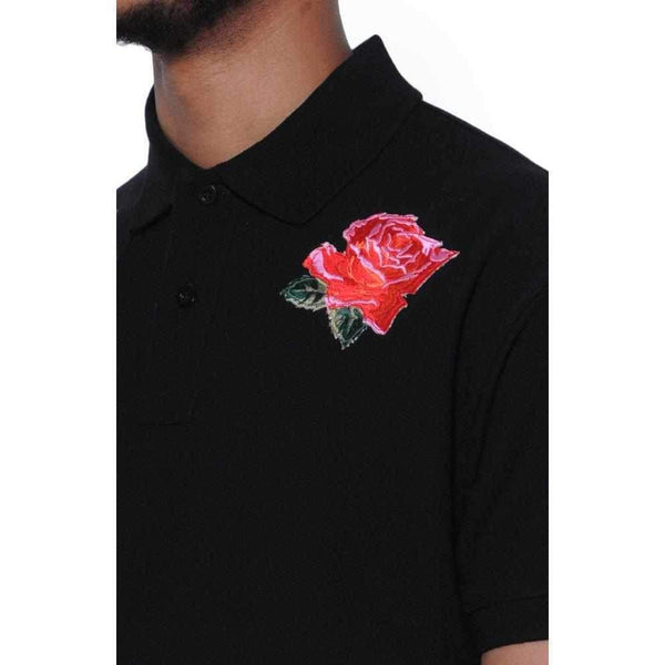 Nerdy Fresh | Men'S Rose Thorn Polo-1Style.ch