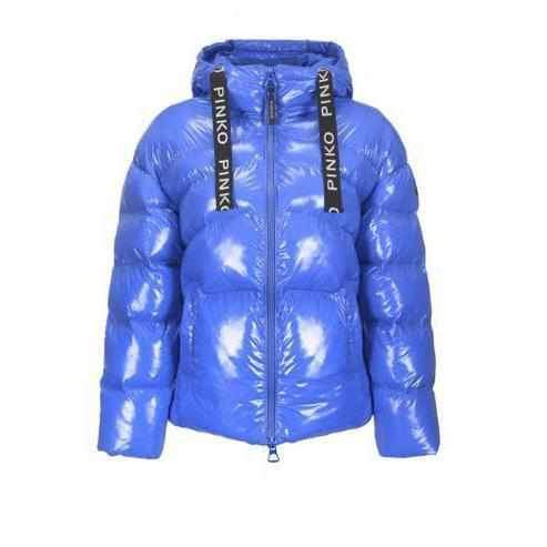 Short Down Jacket Pinko effect Glossy – 1Style.ch 6a2b184830b