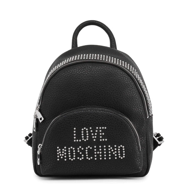 Women's Backpack Love Moschino in Faux Leather-1Style.ch