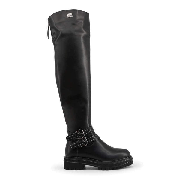 Women's High Boots With Buckles Laura Biagiotti-1Style.ch