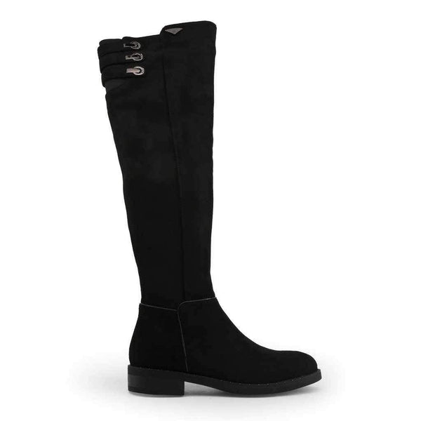Women's High Boots With Low Heel Laura Biagiotti-1Style.ch