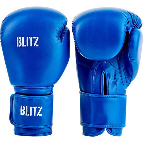 Blitz Training Boxing Gloves Blue