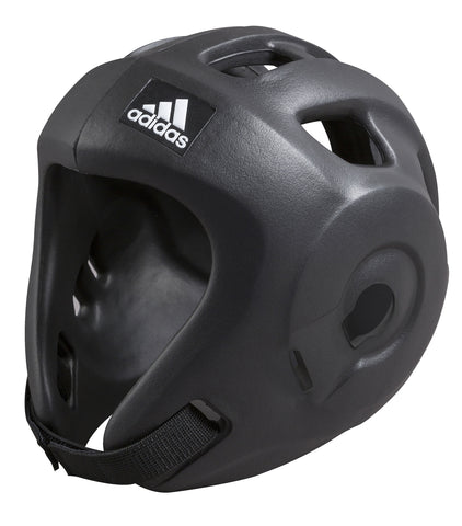 Adidas Adizero Speed Head Guard - Black, WAKO Approved