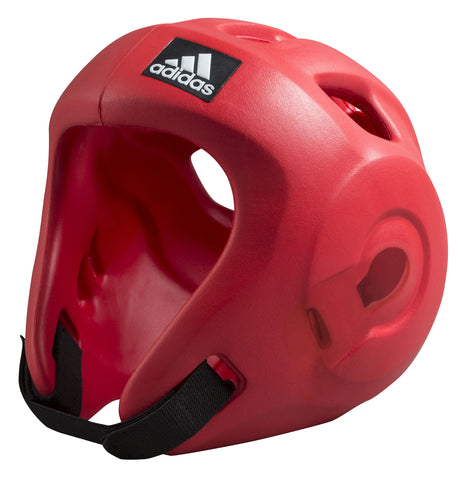 Adidas Adizero Speed Head Guard - Red, WAKO/WTF/ITF Approved
