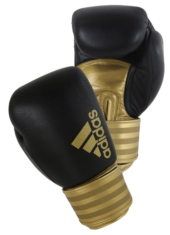 Adidas Hybrid 200 Boxing Gloves Black/Gold