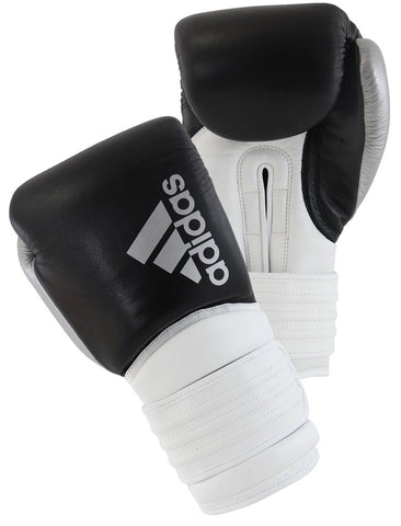 Adidas Hybrid 300X Boxing Gloves Black/White