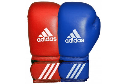 Adidas AIBA Licensed Boxing Gloves - 10 + 12oz