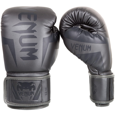 Venum Elite Boxing Gloves Grey