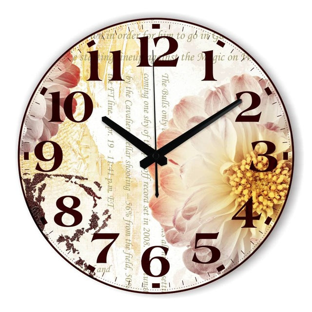 Beautiful Butterfly Wall Decoration Watch Clock Home Decoration Silent Wall Clock Modern Design Warranty 3 Years Gifts