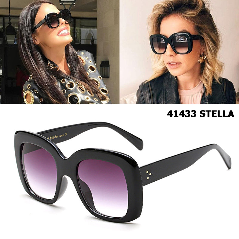JackJad 2017 New Fashion 41433 STELLA Style Gradient Sunglasses Brand Design Butterfly Women Vintage Sun Glasses Oculos De Sol