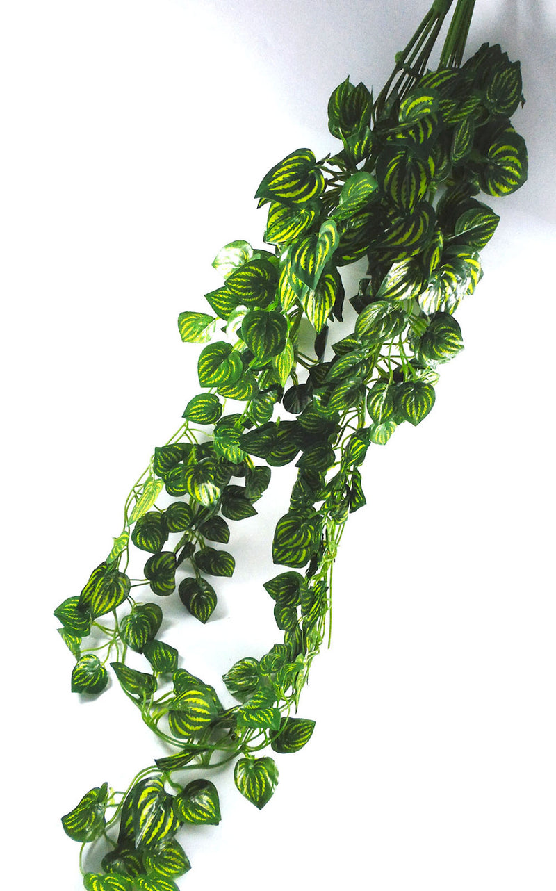 40pcs 87cm length Artificial Green Leaves Flower Wreaths Fake Garden Hanging Plants Vine Rattan Christmas Gift Home Decorations