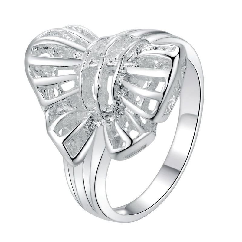 beautiful butterfly shiny  Silver plated ring, silver fashion jewelry ring For Women&Men , /HUXCMVVU JCXKANLZ