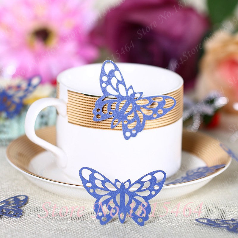 60pcs/set 3D Paper Flowers Laser cut Butterflies Background Arrangement Wedding Birthday Party Decorations Kids Craft Supplies