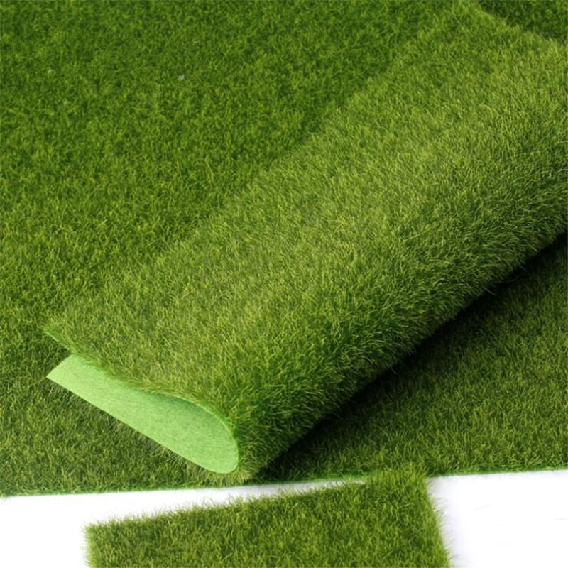 Real touch Fake Moss Artificial Lawn Micro Landscape moss Grass flores artificiais flowers Foliage for home weddinh decoration