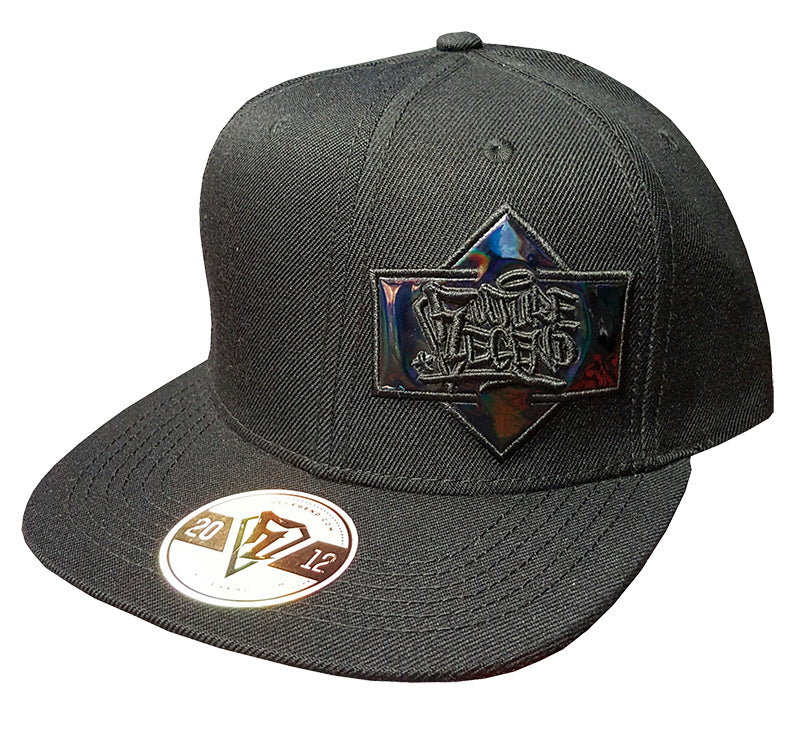 Black Label Snapback - Black