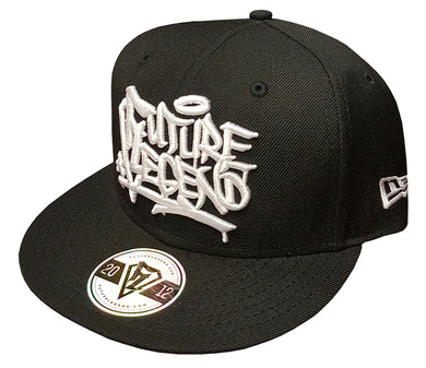 New Era Snapback Graffiti - Black