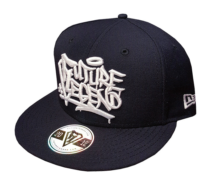 New Era Snapback Graffiti - Yankee Blue