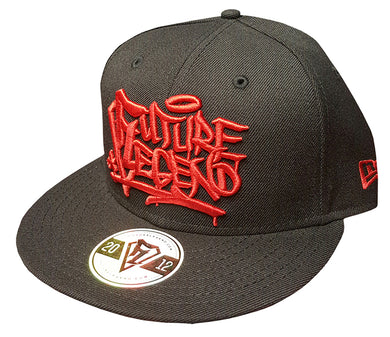 New Era Snapback Graffiti - Black/Red