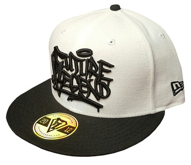 New Era Snapback Graffiti - White
