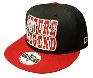 New Era Snapback Classic - Black/Red