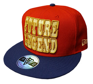 New Era Snapback Classic - Red/Blue