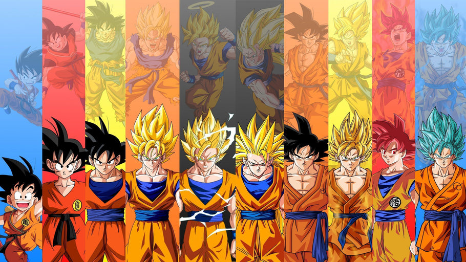 Dragon Ball Series Reflection